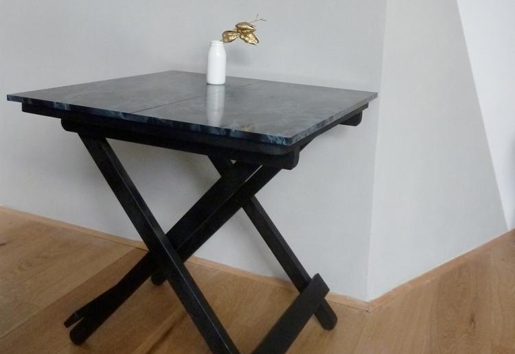 IKEA HACK TABLE MARBRE BY KRAFT&CARAT