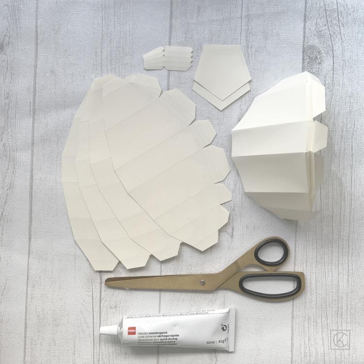 DIY PAPER PUMPKIN STEP BY STEP BY KRAFT&CARAT