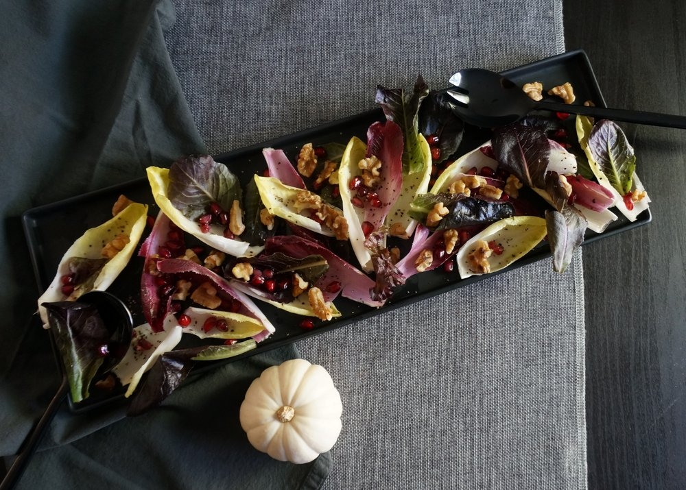 Endive-salad-with-pomegranate