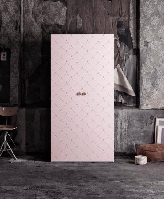 superfront-wardrobe-pattern-bigfish-colour-grannie-pink-ikea-pax-cabinet-handle-circus-brass