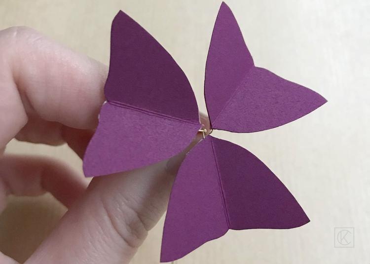 DIY PAPER FLOWER STEP BY STEP KRAFT&CARAT