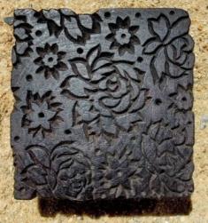 tampon batik indien