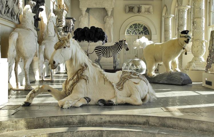 home tour manoir excentrique licorne
