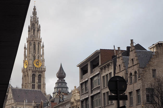 city guide anvers kraft&carat cathedrale