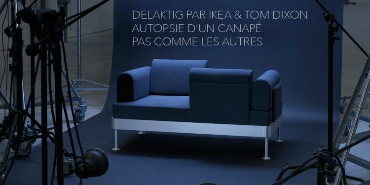 delaktig par ikea x tom dixon bien plus qu un canap. Black Bedroom Furniture Sets. Home Design Ideas