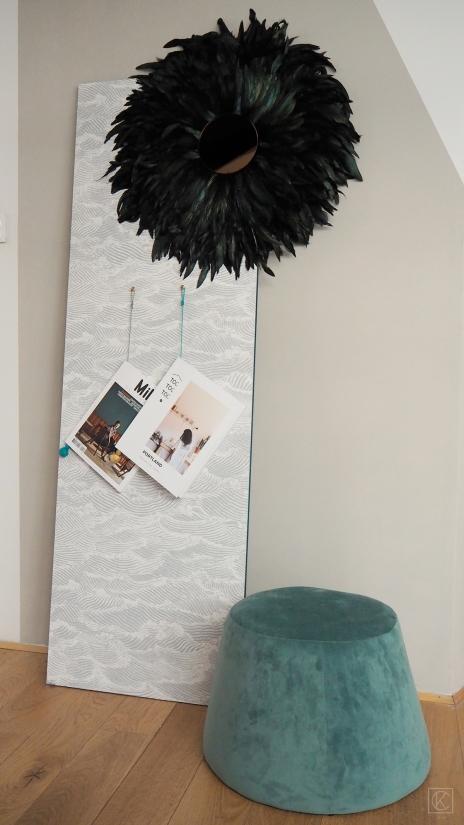 DIY porte-revue cuir & bois by kraftandcarat