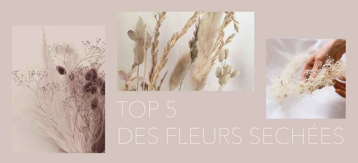 TOP 5 des boutiques où acheter des fleurs séchées