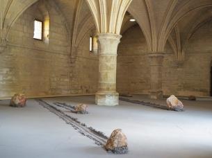 Un peu plus loin, abbaye de maubuisson, stéphane thidet