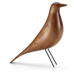 oiseau-eames-noyer-wood bird-kc