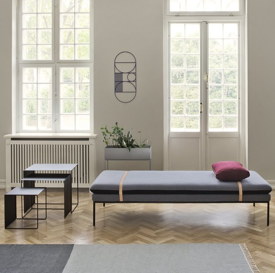 Daybed Canape Lit Repos Luxe Design Kc 3 Kraft Carat